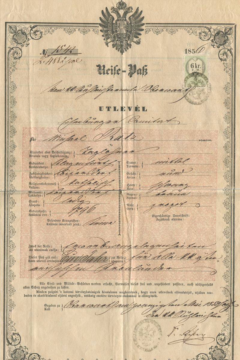 1856 utlevel