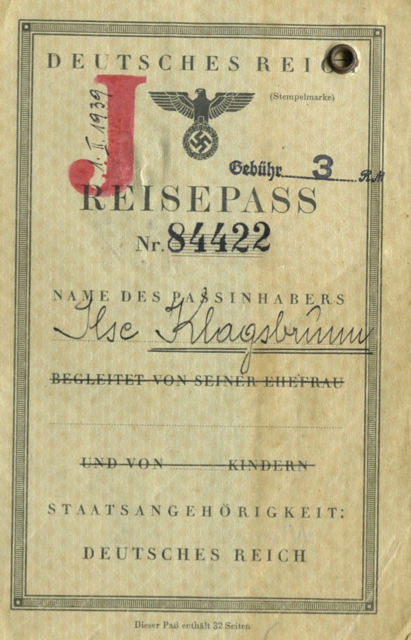 German J passport